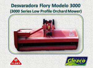 Desvaradora Flory Modelo 3000 (3000 Series Low Profile Orchard Mower)