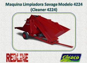 Maquina Limpiadora Savage Modelo 4224 (Cleaner 4224)