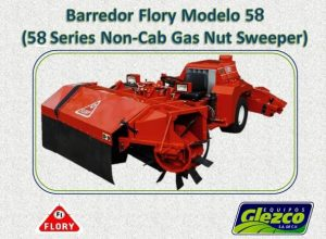Barredor Flory Modelo 58 (58 Series Non-Cab Gas Nut Sweeper)