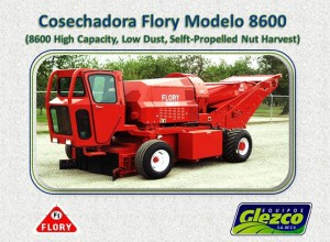 Cosechadora Flory Modelo 8600 (8600 High Capacity, Low Dust, Selft-Propelled Nut Harvest)